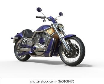 Purple Roadster Bike