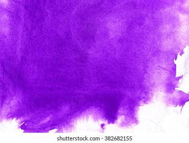 purple spots watercolors
