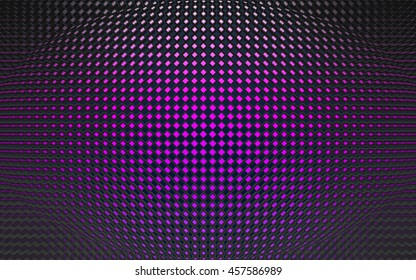 Purple tile material