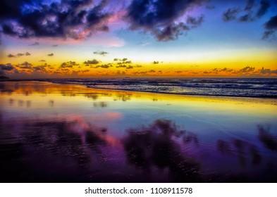 Purple Twilight - Porto de Galinhas - Recife . Brazil