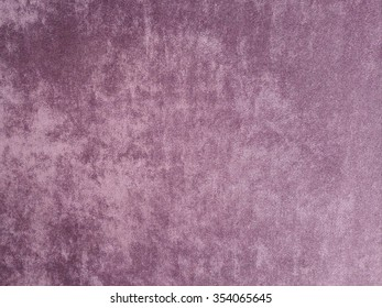 Purple velvet wall