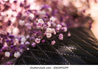 Purple wedding paniculata beauty bouquet