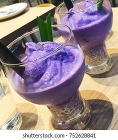 Purple yam shake ube