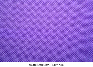 Purple yoga mat texture background. background of camping mat