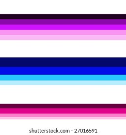 purples, blues, pinks horizontal lines