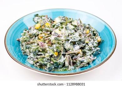 Purslane salad, diet food