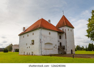 Purtse, strong defensive castle-tower from 17 century. Estonia.