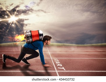 Push to overcome obstacles