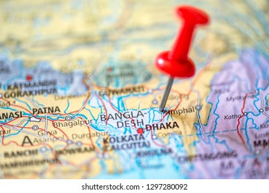 World Map Bangladesh Stock Photos, Images & Photography ...
