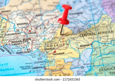 Cameroon Map Pin Images, Stock Photos & Vectors | Shutterstock