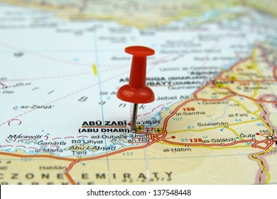 Abu Dhabi World Map Stock Photos Images Photography Shutterstock