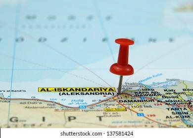 Alexandria Map Stock Photos, Images & Photography | Shutterstock