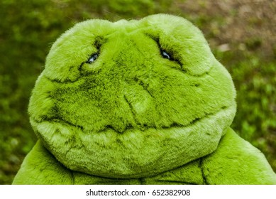 Pushie Green Frog