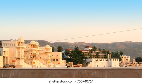Pushkar temple in Rajasthan, India | Indian temple in pushkar rajasthan | Indian ancient temple architecture.