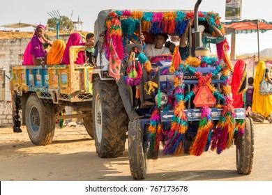 Pushkar,India-October 30,2017 : Pushkar Mela is one of the greatest fair in India. Crowds of people attend this fair.It is a great opportunity to sell foods and goods for Rajasthani vendors.