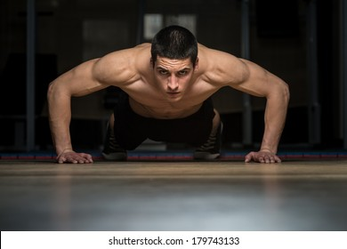 Push-Ups Lower Position