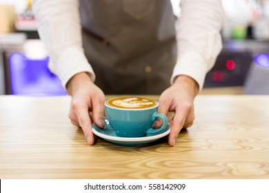 Put your hands on the coffee