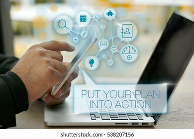Put Your Plan Into Action, Business Concept