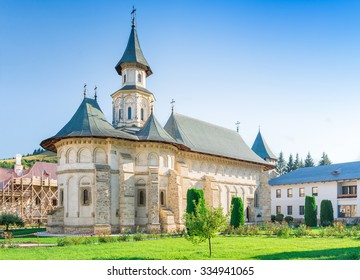 Putna Monastery,in Bucovina, Romania was built by Voievod prince and Saint Stephen the Great between 1466 and 1469, and was the cultural centre for medieval Moldova