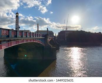 Putney Bridge in London, England