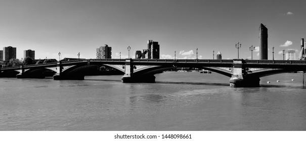 Putney Bridge is a bridge over the River Thames in west London