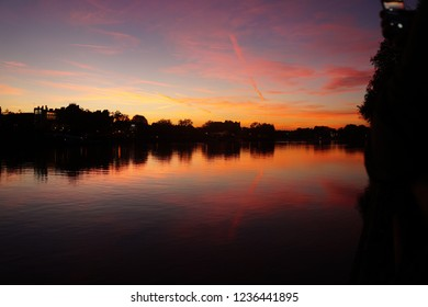 Putney Bridge sunset (2)