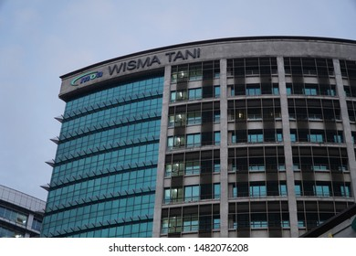 Putrajaya, Malaysia, Circa Jun 2019 - Ministry of Agriculture of Malaysia government office building also called Wisma Tani.