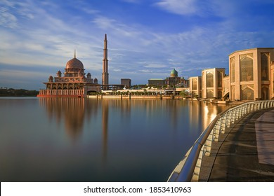 Putrajaya Mosque is just one of many outstanding places in Putrajaya, Malaysia.