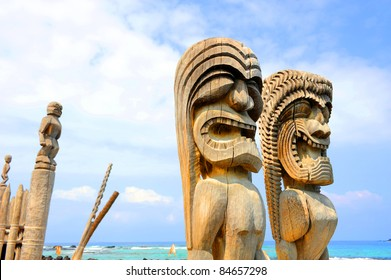 Puuhonua o Honaunau National Historical Park, Big Island, Hawaii