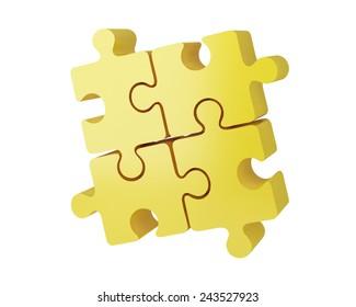 Puzzle 3D business solutions