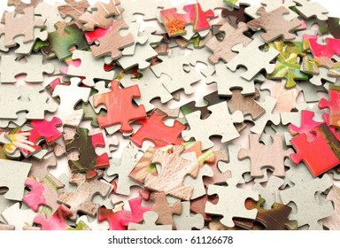 Puzzle. A background