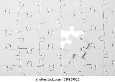 Puzzle, business solutions conception