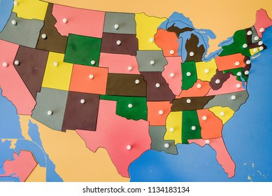 Royalty-Free Usa Map Puzzle Stock Images, Photos & Vectors ...