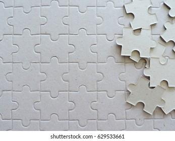 puzzle pieces background.