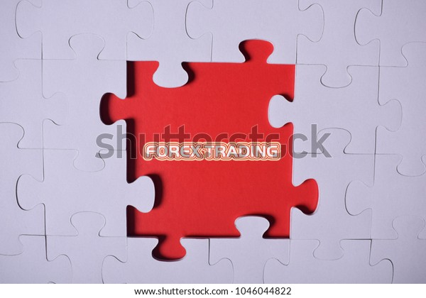 Puzzle Wordforex Trading Stock Photo (Edit Now) 1046044822