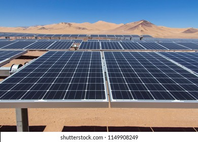 PV Modules - Solar Energy, a clean technology to reduce CO2 emissions and the best place for Solar Energy is the Atacama Desert at north Chile where all the astronomical observatories are placed