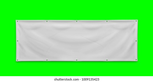 PVC advertising banner with eyelets