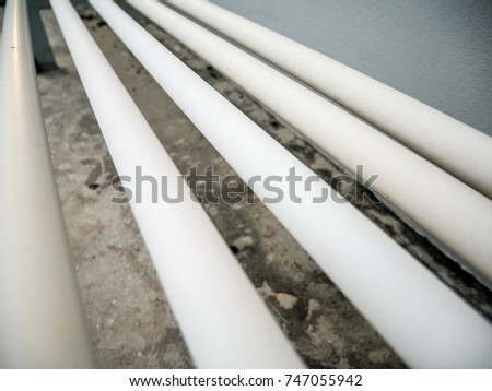 Admirable Pvc Conduit Wires On Deck Stock Photo Edit Now 747055942 Wiring Digital Resources Funapmognl