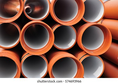 pvc drain tubes industrial plastic pipeline
