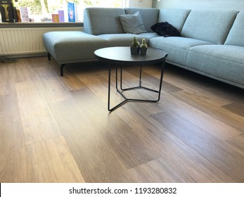 PVC flooring with decoration