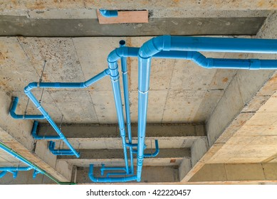 pvc pipe for water piping system resident in new building