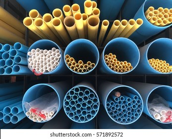 Pvc Pipes Background