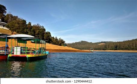pykara lake ooty tamil nadu india