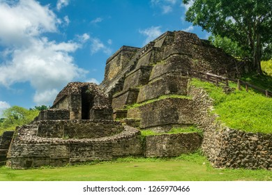 Pyramid of Altun Ha in Belize