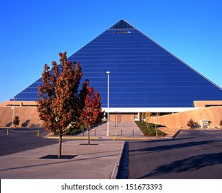 The Pyramid Arena, Memphis, Tennessee, USA.
