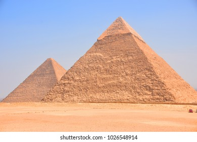 Pyramid at Cairo, Egypt
