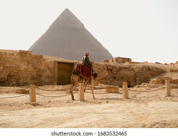 Pyramid of cheops from cairo egypt
