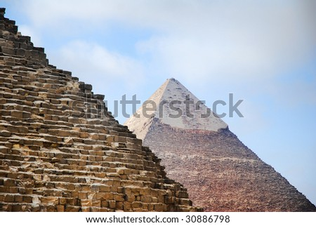 how was the pyramid of giza built