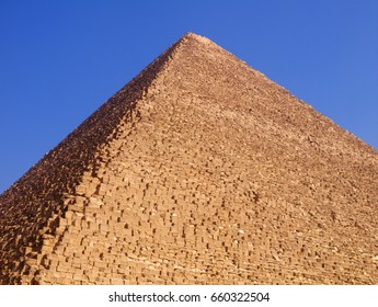 Pyramid in Giza, Egypt.