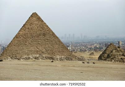 The Pyramid of Giza, Egypt